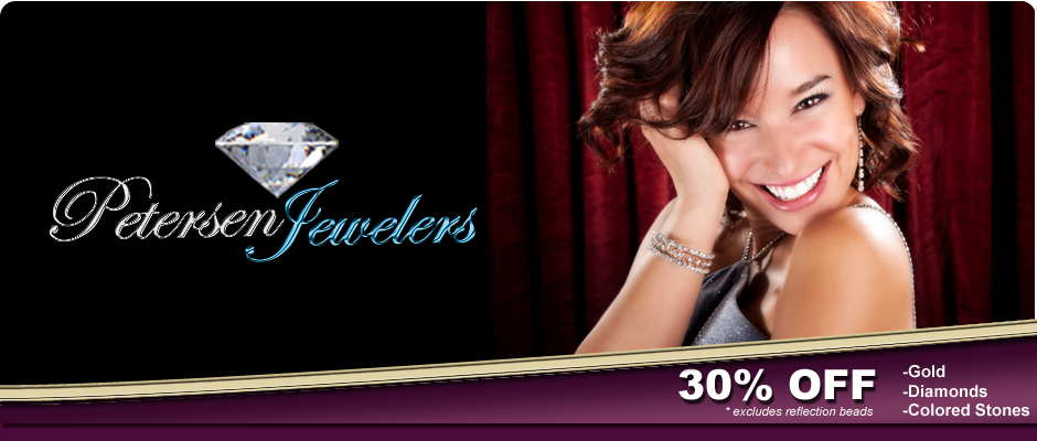 Petersen Jewelers Jackson, Michigan 30% Off Gold